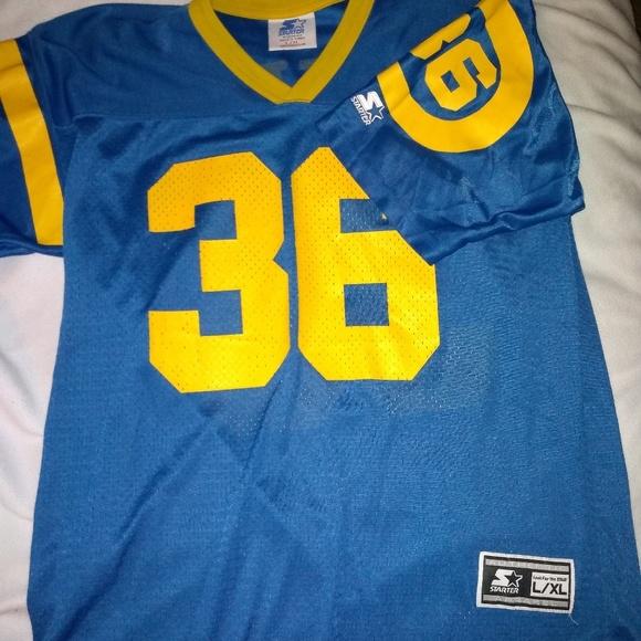 premium selection f85b0 0b2b8 Rams jersey